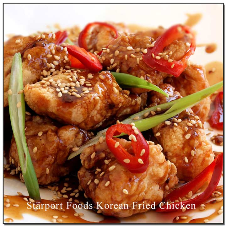 Korean Fried Chicken Recipe Starport Foods